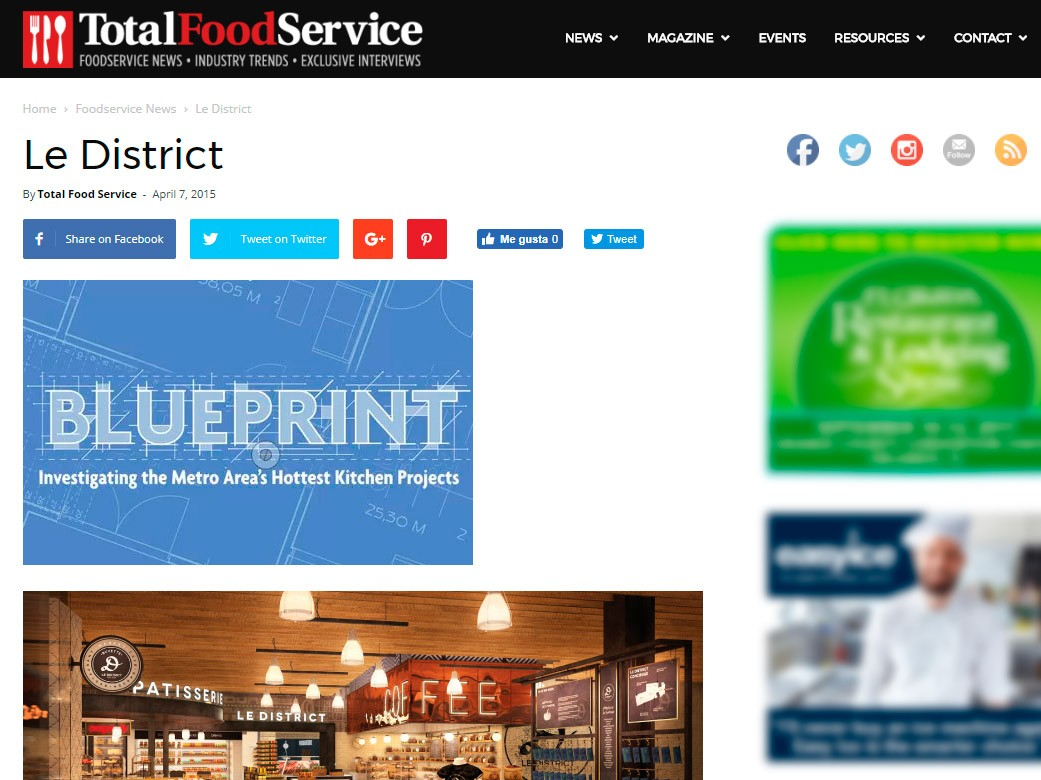 Le District – Total Foodservice