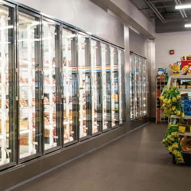 Special walk-in coolers doors
