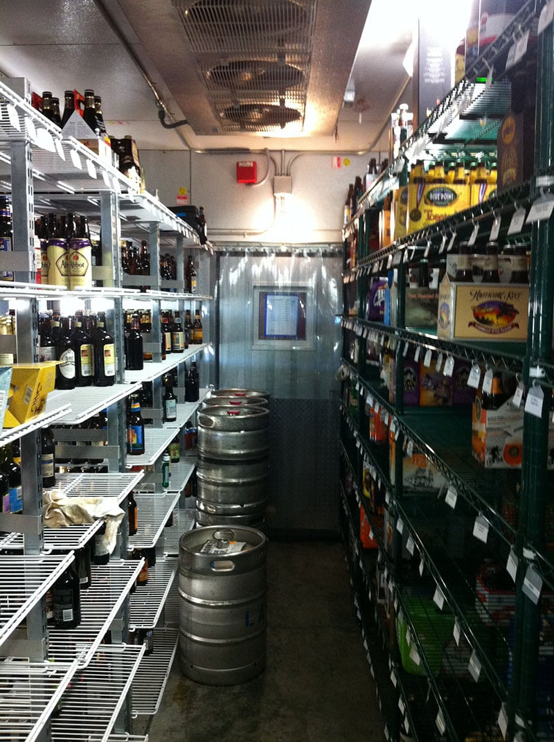 commercial Walk-In beer Cooler