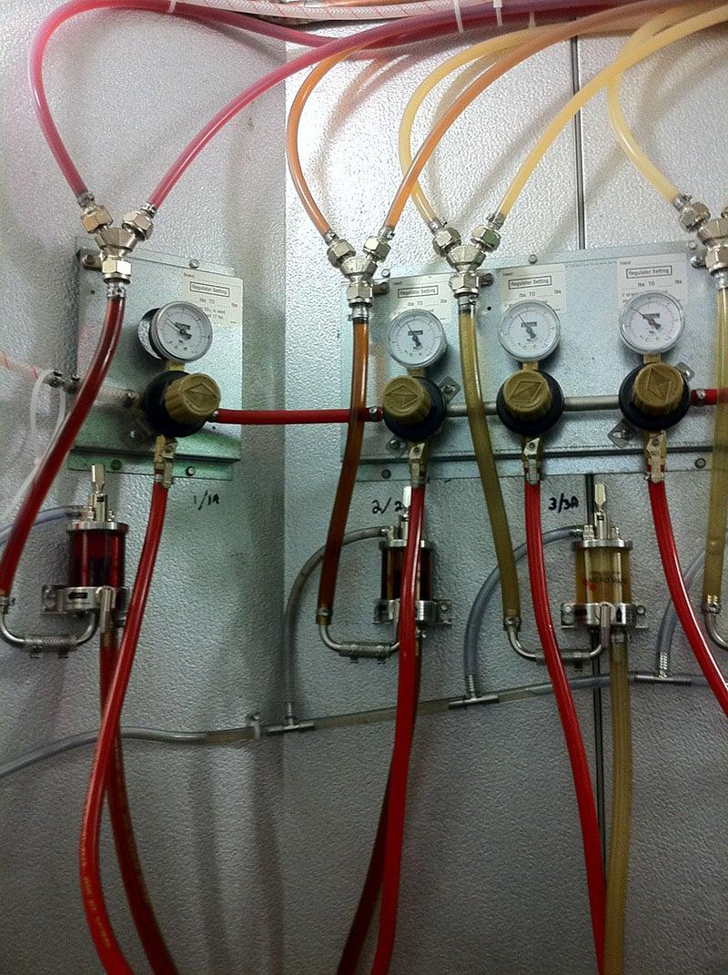 Arctic Walk-In Coolers and Freezers- Beer Taps