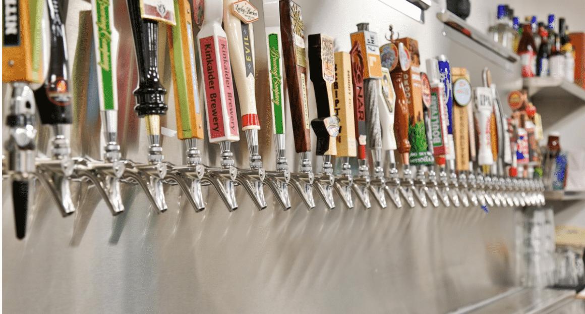 commercial Walk-In beer cooler