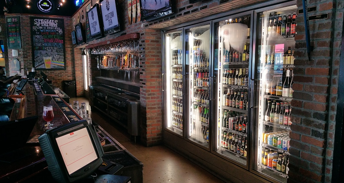 Walk-In beer cooler
