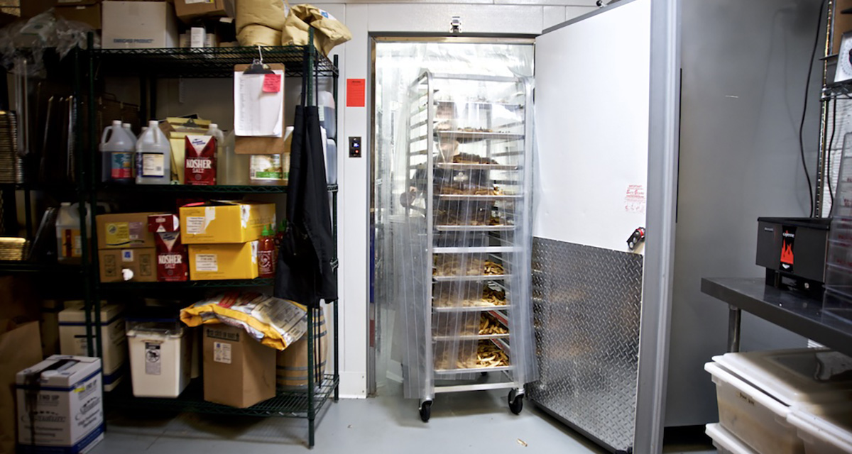 foodservice walk-in coolers and freezers