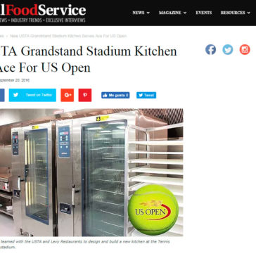 New USTA Grandstand Stadium Kitchen Serves Ace for US Open- Total Food Service