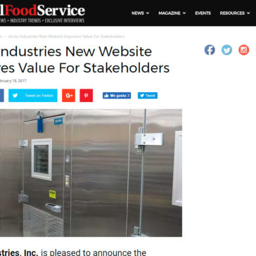Arctic Industries New Website Improves Value for Stakeholders -Total Food Service