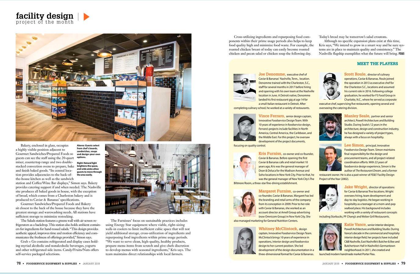 Caviar-5 Caviar and Bananas chose Arctic Walk-Ins for their Nashville location