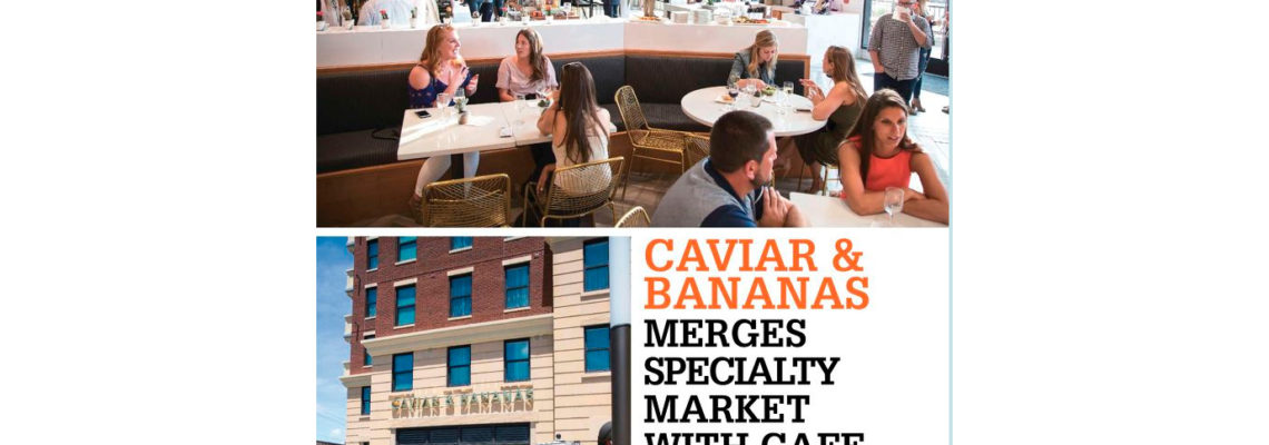 Caviar and Bananas chose Arctic Walk-Ins for their Nashville location