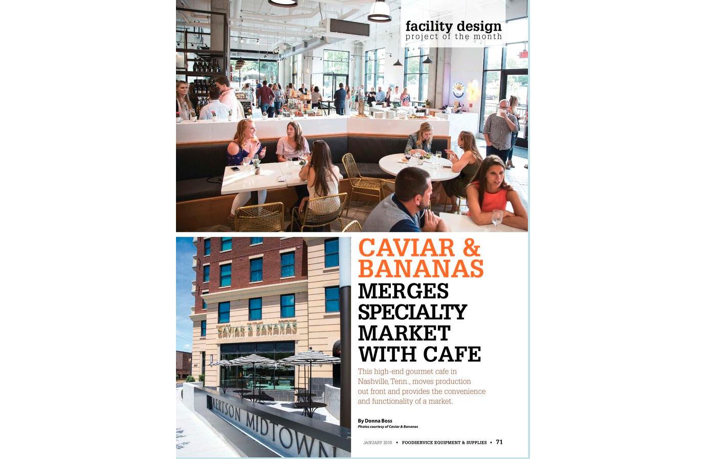 caviar-1 Caviar and Bananas chose Arctic Walk-Ins for their Nashville location