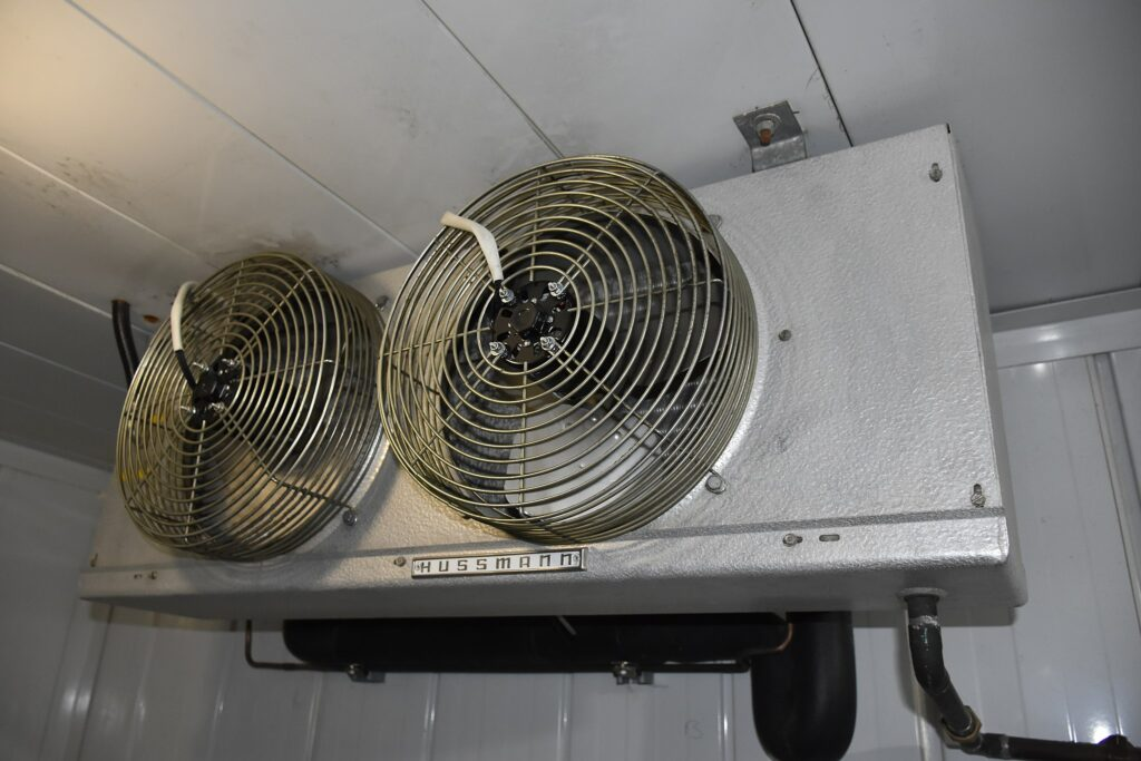 why is my walk-in cooler freezing up - coils